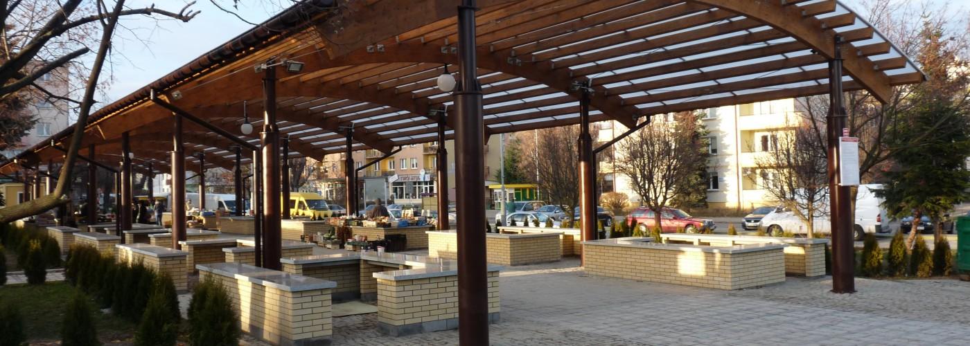 Targowisko stałe w Sandomierzu