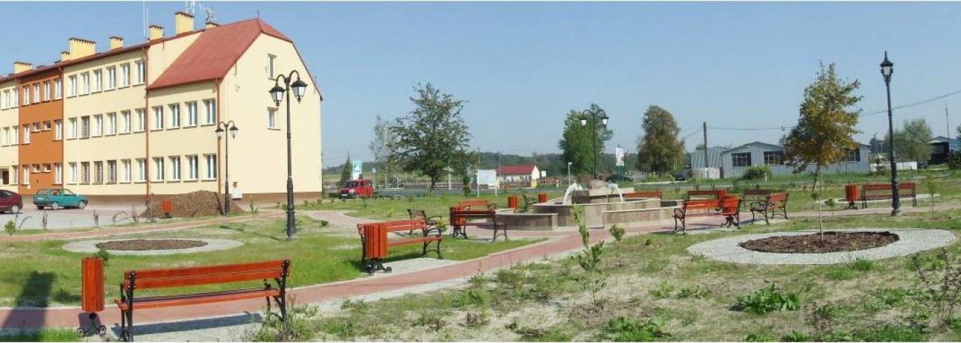 Centrum miejscowości Rytwiany